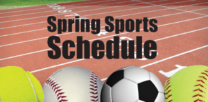 CPHS Spring Sports PRACTICE Schedules for 3/1, 3/2, 3/3